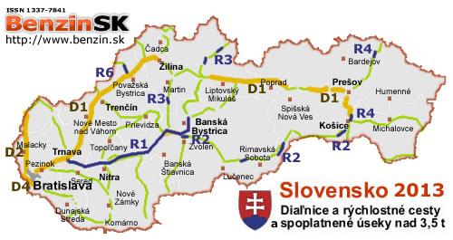 4796baa13240 Diaľničné nálepky na rok 2013 v Slovenskej republike - Diaľničné ...